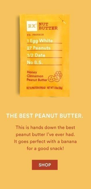Honey Cinnamon Peanut Butter RX Nut Butter