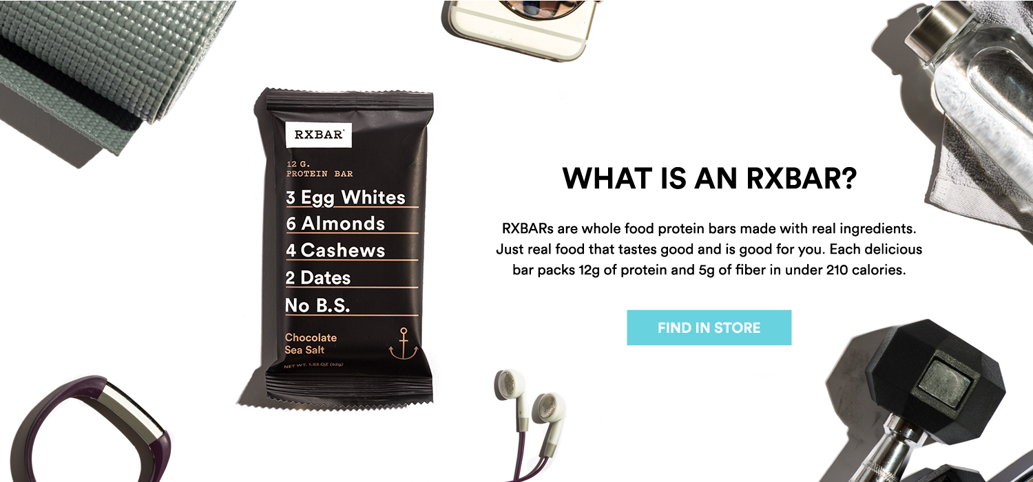 Find RXBAR in ttore or buy online
