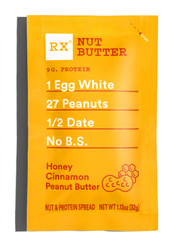 RX Honey Cinnamon Peanut Butter