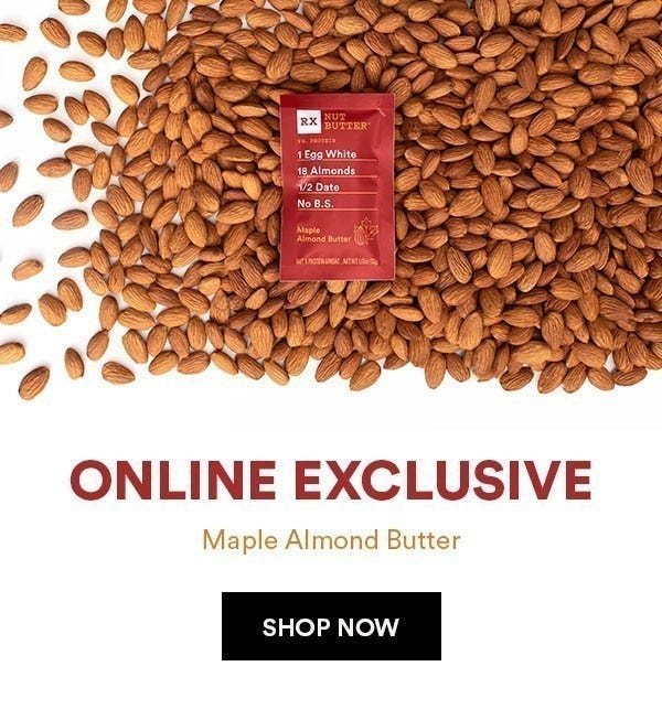 Introducing Maple Almond Butter