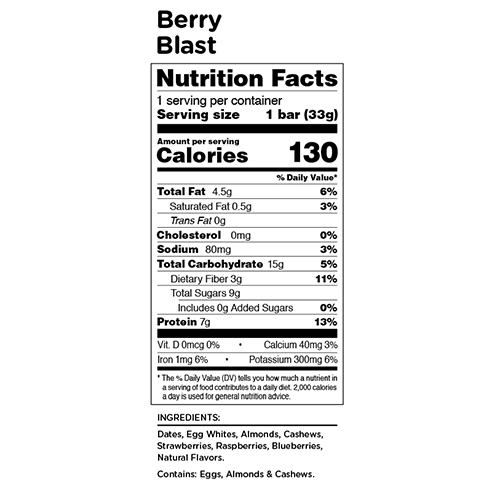 RXBAR Kids Berry Blast
